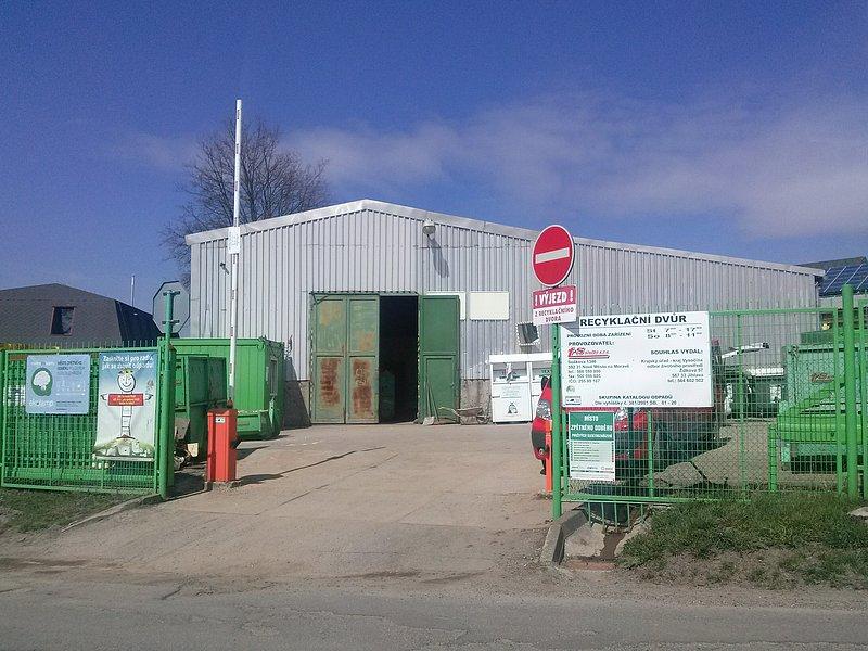 Uzavření recyklačního dvora