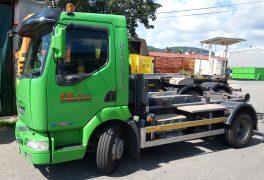 Záměr prodeje nákladního vozidla s hákovým nosičem kontejnerů