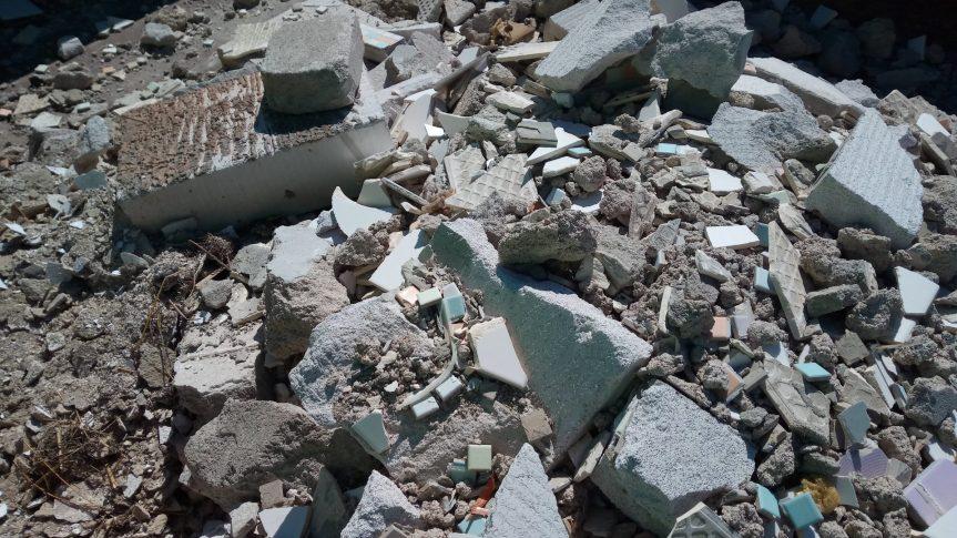 Likvidace stavebních odpadů