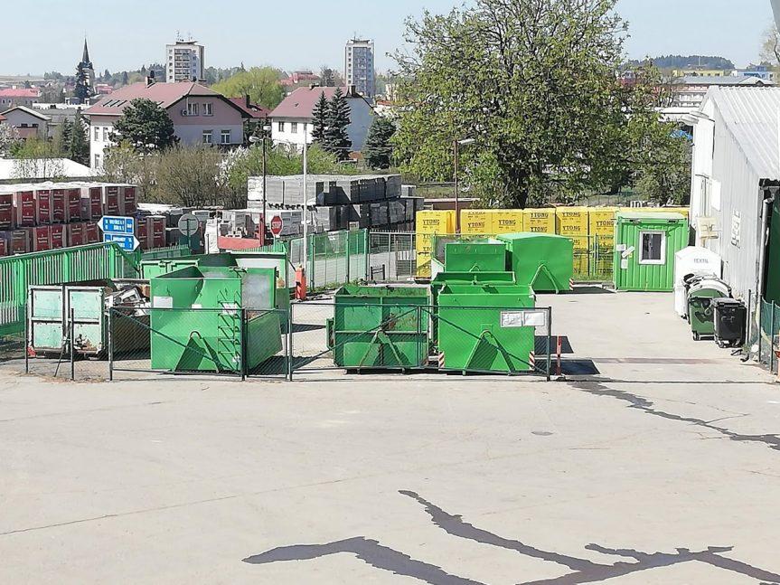 Recyklační dvůr otevřen